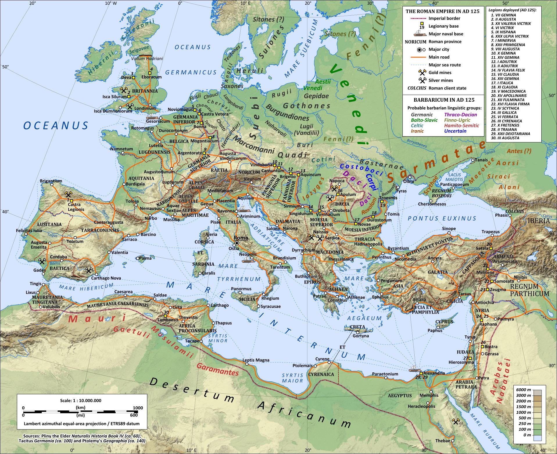 verlorene römische legion